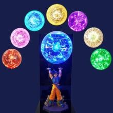Dragon Ball Z Goku Spirit Bomb Led Light Lamp Dragon Ball Super Son Goku Night Lights