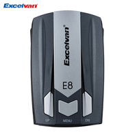 Excelvan E8 Car Radar Detector 360 Degree Full 16 Band Speed Safety Anti Police Scanning Advanced