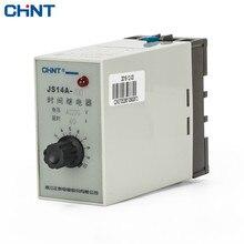 CHINT Transistor Type Time Relay JS14A 36V 110V 220V 380V цена