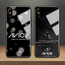 DJ Avicii Tim Bergling R.i.p Anti Gores Phone Case Soft Silicone Cover untuk Apple Iphone 6 6 S 7 8 plus X XR X 11 Pro Max(China)