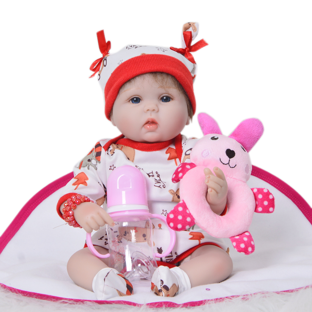 Reborn Dolls Playmates Realistic Babies Silicone Kids Wholesale New XMAS 42cm Gifts Hot