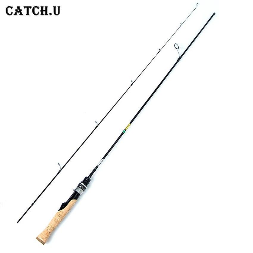 Catch.U Spinning Fishing Rods Lure Rod Telescopic Fishing Pole UL Spinning Rod
