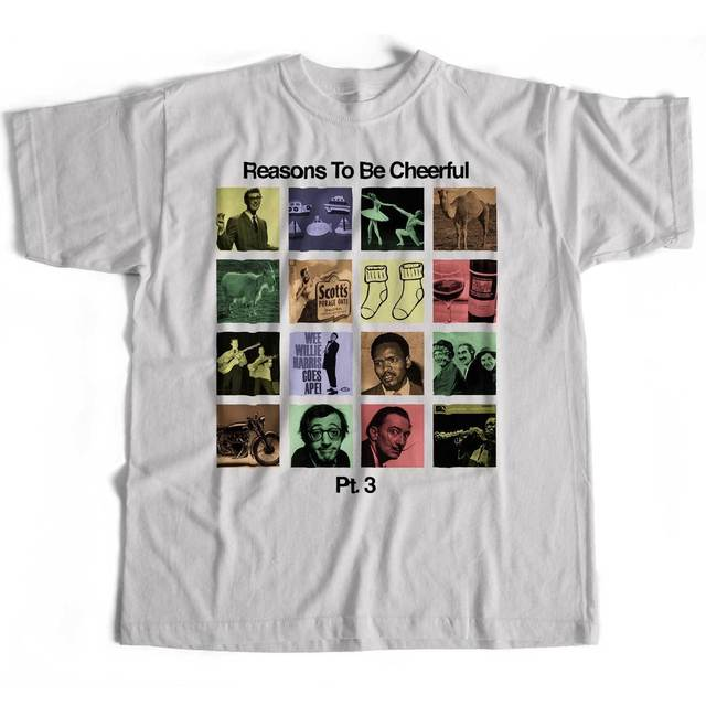 6c4b94acd1012 Inspired By Ian Dury T Shirt - Reasons To Be Cheerful Pt. 3 Old Skool  Hooligans Summer Style Hip Hop Men T-Shirt Tops