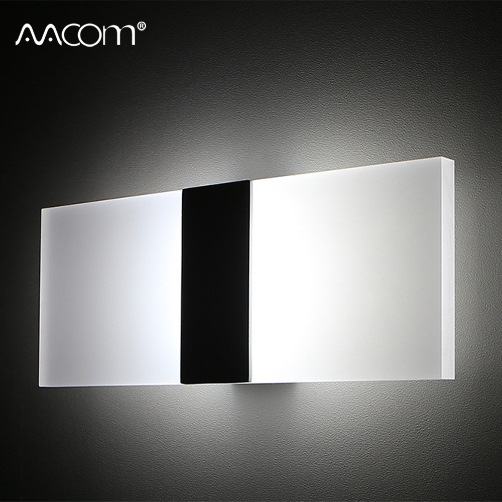 LED Wall Lamp 85-265V Modern Wall Mounted Sconce Lights Decorative Living Room Bedroom Corridor Balcony Aisle Diode Wall Lamp LED Wall Lamp 85-265V Modern Wall Mounted Sconce Lights Decorative Living Room Bedroom Corridor Balcony Aisle Diode Wall Lamp