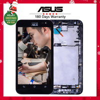 100 Warranty Display For ASUS Zenfone 2 Laser ZE500KL LCD Touch Screen With Frame Digitizer Assembly
