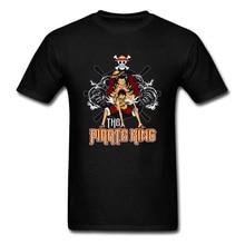Funny T Shirt One Piece Monkey D Luffy Anime Skull Pirate King New Tshirts Straw Hero Japanese TV Men Tshirt My Academy