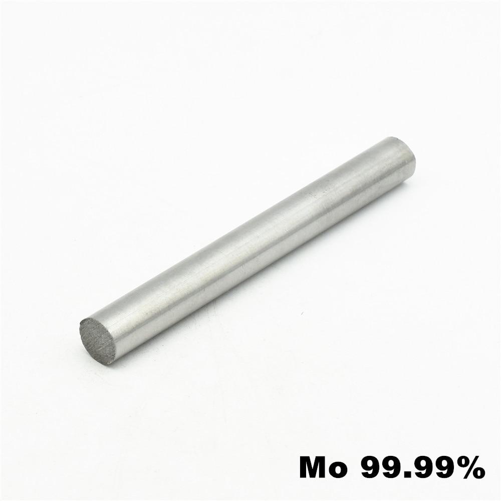 99.95/% Pure Molybdenum Rod Mo Metal Rod Diameter 10mm Length 50mm Tool