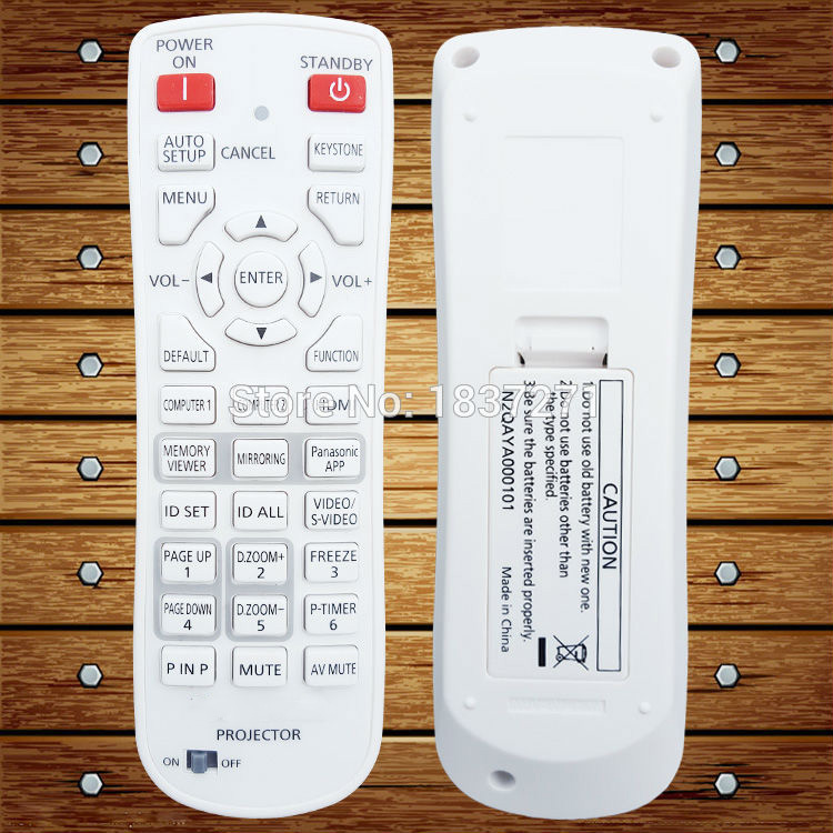 New Original  projectors Remote Control   for panasonic Engineering projector PT-VW435N VX505N VW345NZ  VX415NZ new projector remote control for optoma hd33 br 3060b hd25 hd25 lv br 3037b