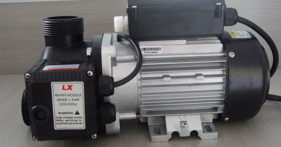 EH 75 0.75HP spa heating pump with 1.5kw heater,for bathtub, pools & spa,Can replace one pump with heating function