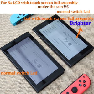Image 5 - Original for NS console lcd display + touch screen Full screen assembly replacement for Nintend Switch accessories