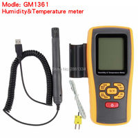 Digital LCD display thermo hygrometer GM1361 2.5 Inch Separate temperature and humidity meter