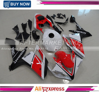 Plastic Injection Fairings For Yamaha R1 Year 2007 2008 YZF 07 08 ABS Motorcycle Fairing Kit Body kit Red Black White Carenes