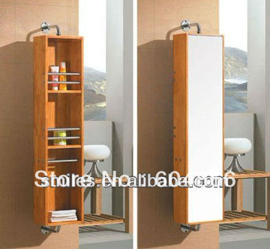 rotatable mirror cabinet/ furniture/length mirror/dressing mirror/bathroom cabinet