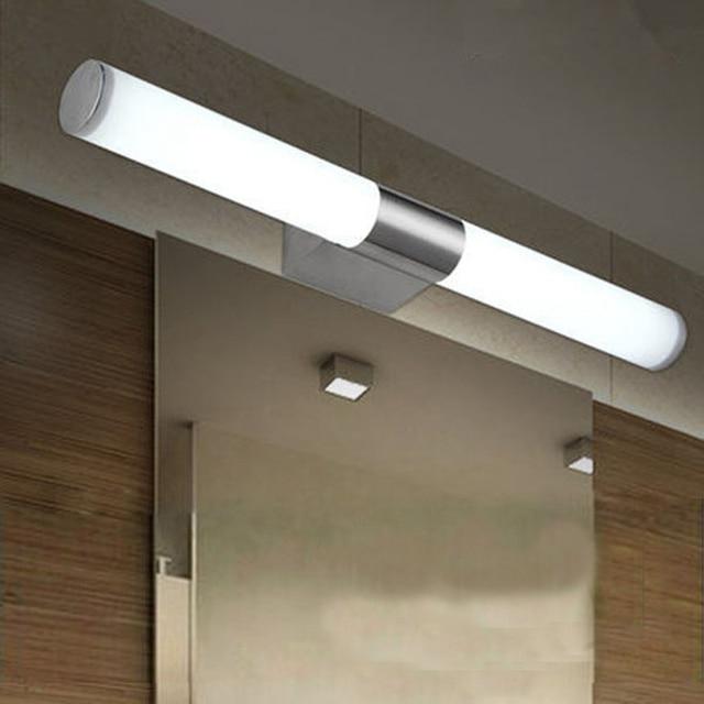 10 W SMD2835 Led spiegel voor lamp rvs badkamer wandlamp Korte Buis ...