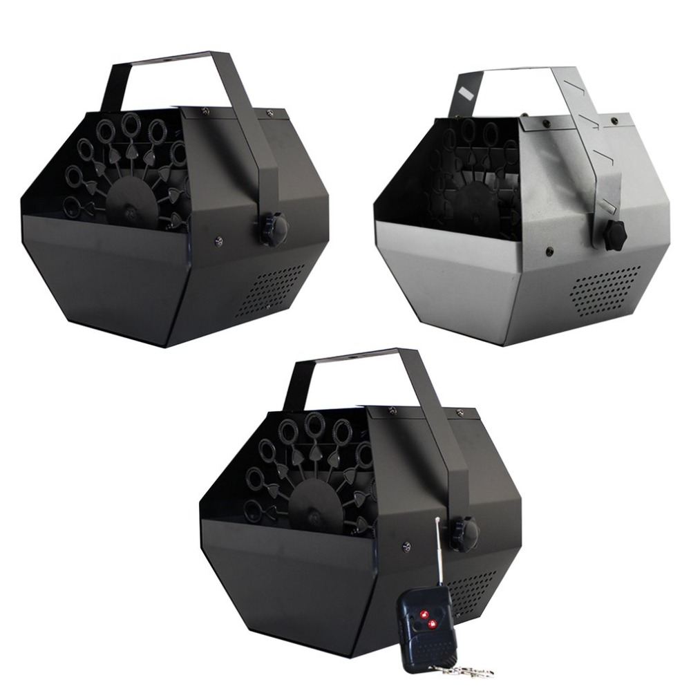 Mini Machine à bulles Portable automatique coque métallique professionnel Machine à bulles électrique pour Bar fête spectacle scène mariage effet