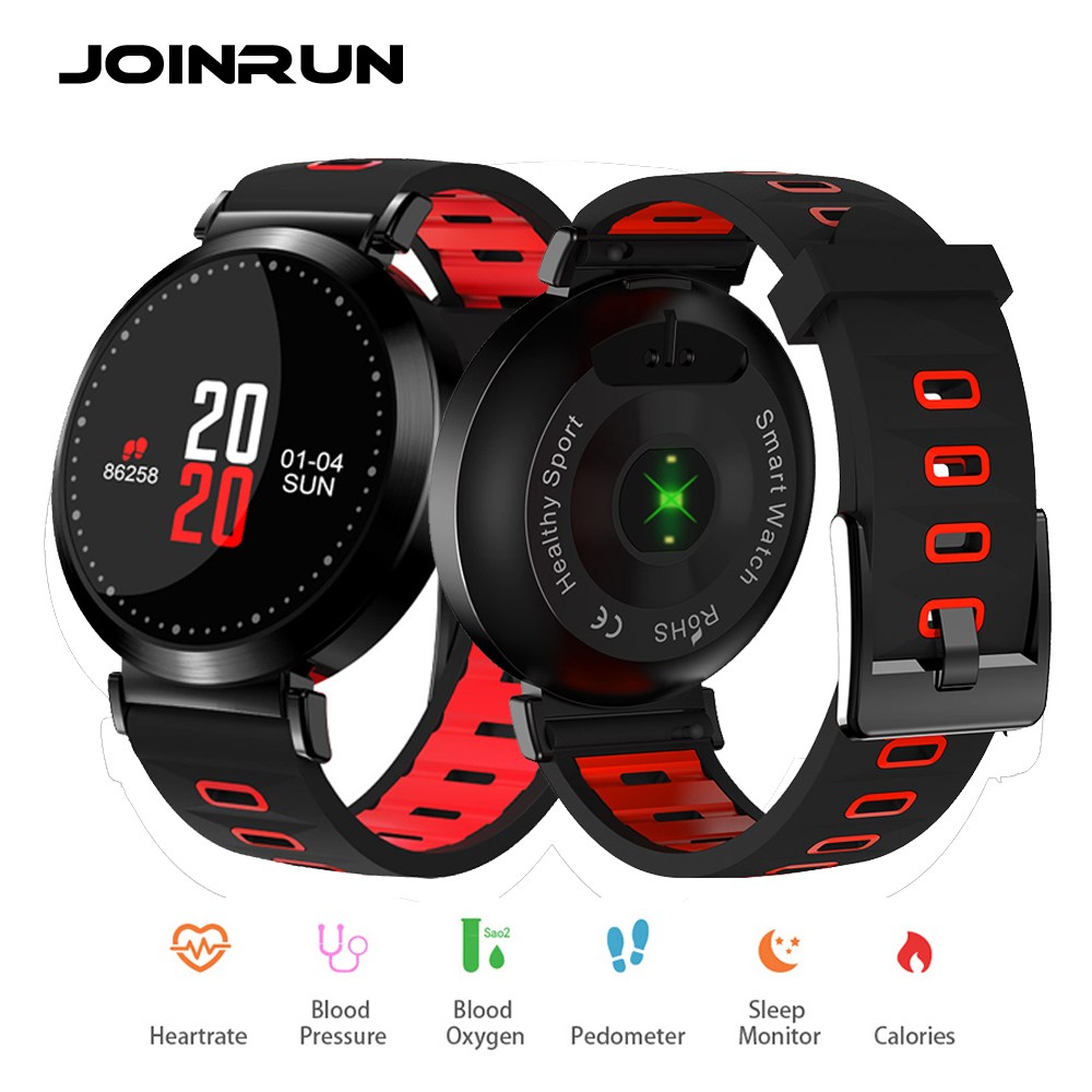 JOINRUN M10 Smart Bracelet Band Wristband Fitness Tracker Blood Pressure watch Sport Bracelet Heart Rate Monitor Color Screen