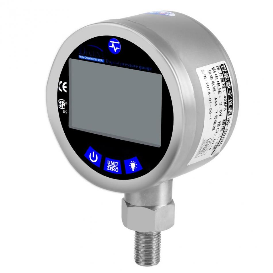 0 40Mpa Digital Pressure Gauge Hydraulic Pressure Tester Meter Electronic Pressure Measuring Instrument for Equipment