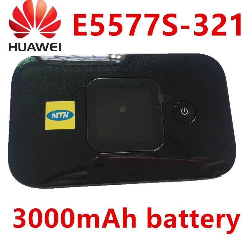 Unlocked Huawei E5577 e5577s-321 LTE 4g router hauwei pocket wifi 4g hotspot 3000Mah Battery lte router pk huawei e3372