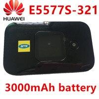 Unlocked Huawei E5577 e5577s 321 LTE 4g router hauwei pocket wifi 4g hotspot 3000Mah Battery lte router pk huawei e3372