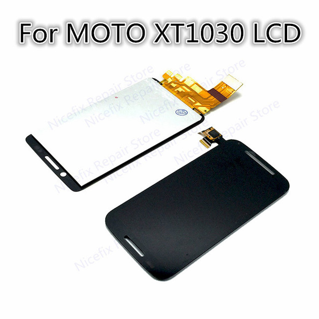 super popular e21e9 14818 US $18.96 5% OFF|free shipping high quality For Motorola Droid Mini XT1030  LCD display with touch screen digitizer Assembly with tools Black new-in ...