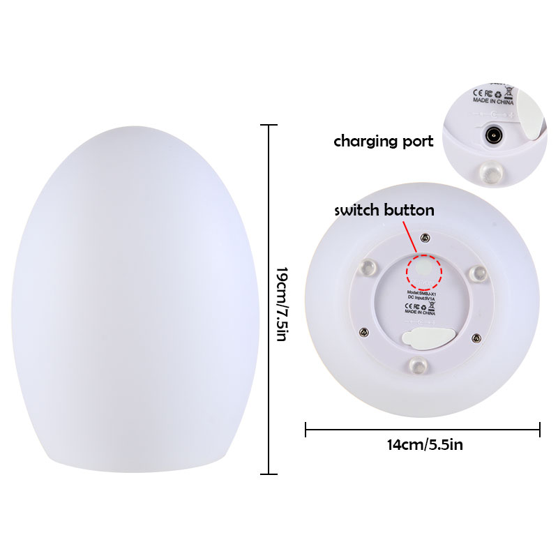 Night Lights for Kids Baby 10 Colors Change Touch Control Wifi Smart Light Googlehome Alexa Creative Atmosphere Outdoor Lamp