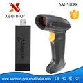 32 Бит Беспроводной Ручной Сканер Штрих-Кодов USB Беспроводной Считыватель Штрих-Кодов 1d Крытый Long Range SM-5108R Pos-считыватель Штрих-Кодов