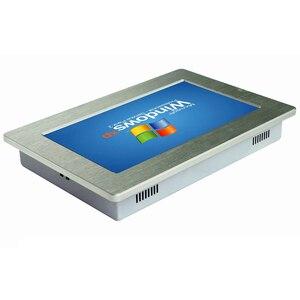 """Image 2 - 10.1 """"tela de toque industrial painel pc com 2 lan rj45 tablet pc intel processador mini pc suporte wi fi sim para controle industrial"""