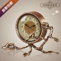 2017 Meijswxj Desk Clock Saat Reloj Bracket Clock Bedside Creative Mute Table Clocks Relogio Reveil Masa saati Relogio de mesa