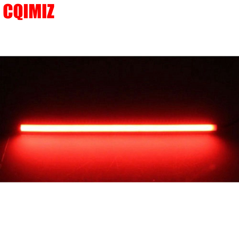 Motorcycle 45cm Red Amber Sequential Switchback Flowing LED Strips Turn Signals