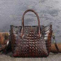 Крокодил сумка для женщин пояса из натуральной кожи modis bolsa feminina сумки 2018 sac основной Роскошные дизайн