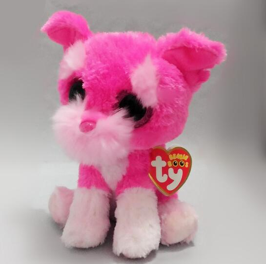 0301632d2cc Aliexpress.com   Buy TY Beanie Boo Small Isla the Rainbow Bulldog Unicorn Plush  Toy Claire s Girl s Plush Stuffed Collectible Soft Doll Toy from Reliable  ...