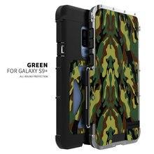 R-JUST Железный человек 360 Полный противоударный чехол телефона кронштейн Подставка для S9 плюс Сталь флип чехол для samsung Galaxy S9