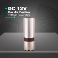 12V Mini Car Fresh Anion Air Purifier Filter Auto Vehicle Freshener Cleaner Negative Ions Odor PM2.5 Eliminator Home Office