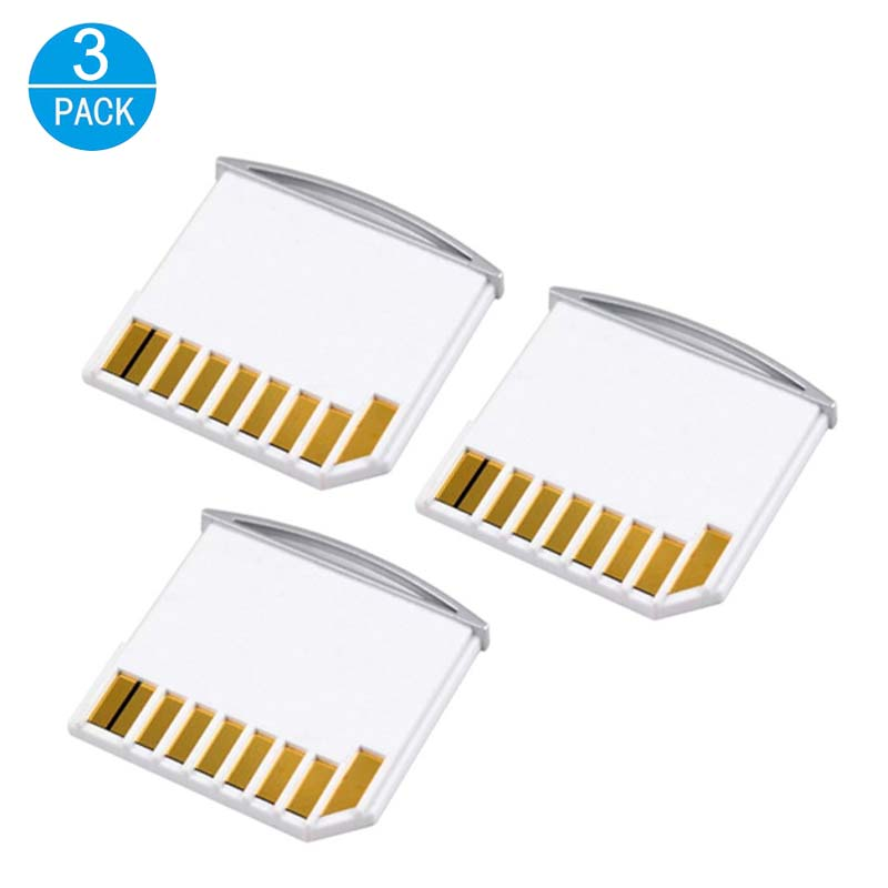 3 Pcs MiniSD Drive Micro SD To SD Adapter Laptop Accessories Extra Storage Card Adaptor Memory Card Reader For Macbook Converter