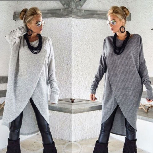Woman Lady Long Sleeve Sweatshirt Pullover Top Female Dress For Women