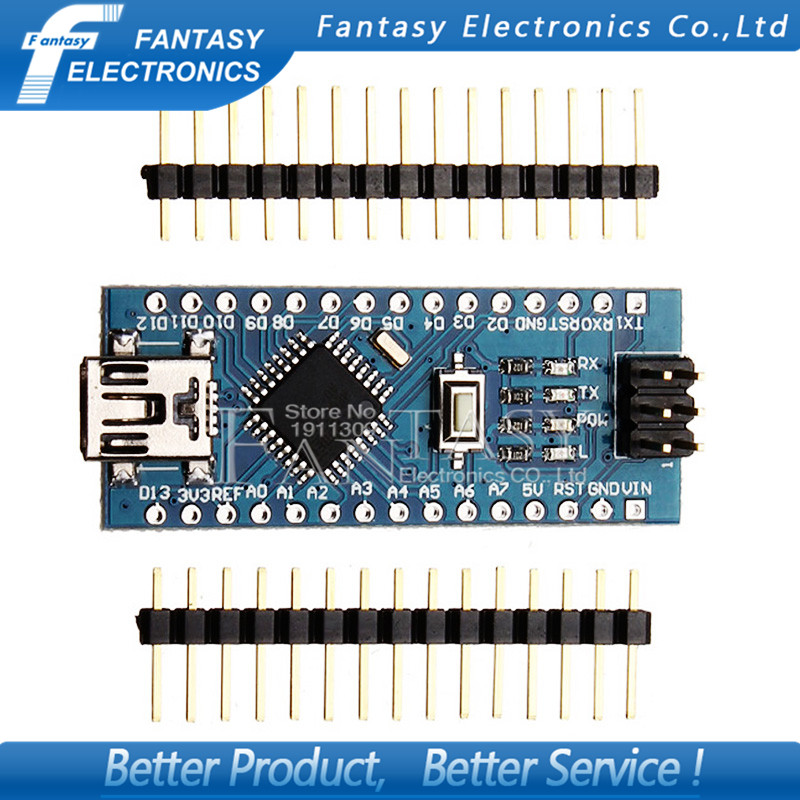 1pcs ATmega328P For Nano V3 Contrleur Board Compatible Amliore Version Neuf For New