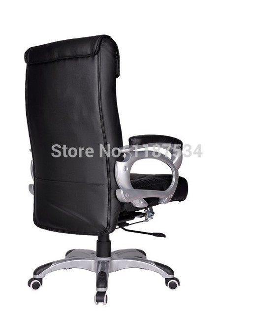 Executive Office Chair Leather Lift Ergonomic Human Engineering Office Chair  Massage Armchair