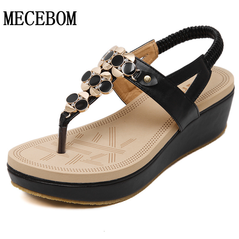 New 2016 font b Women b font sandal font b women b font summer wedge shoes