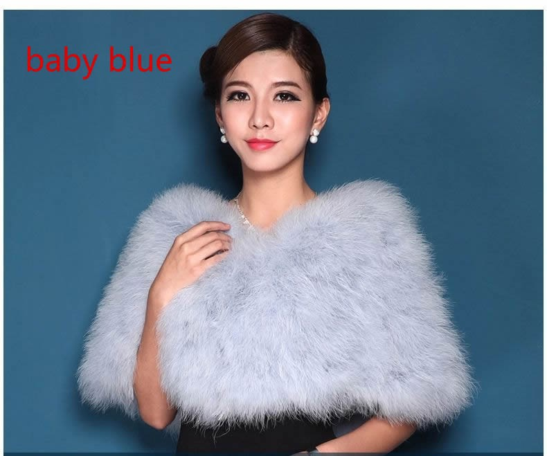 Bridal Wedding Women Pashimina Real Mink Fur Ponchos And Capes With Fox Collar Lady Stole Genuine Fur Coat Fur Shawls Rich And Magnificent Women's Scarves