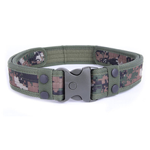 Leisure Men/Women  s Army Canvas Camouflage Belts For Military Tactical Belt Alloy Buckle High quality