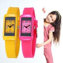 7Colors Fashion Children's Silicone Casual Sports Watch Boys Girls Kids Quartz