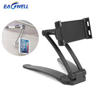Multipurpose Tablet PC Phone Holder Kitchen Cabinet Table Mount Stand Holder for iPad 4 11 inch Tablets for iPhone Samsung Phone