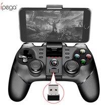 Ipega 9076 PG-9076 Do Bluetooth Gamepad Android 2.4 GHz PC Gamepad Sem Fio Joystick Joypad Game Controller para PC/Android/IOS