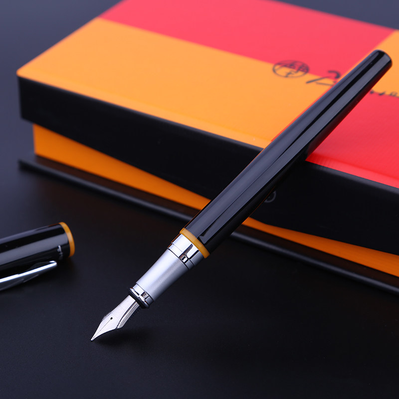 Red Ring Writing Gift Pen Picasso 907 Montmartre Fountain Pen Black and Yellow