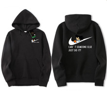 New Brand Sweatshirt Men's JUST DO IT Hoodies Men Hip Hop trasher Fashion Fleece high quality Hoody Pullover Sportswear Clothing