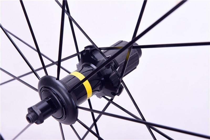 Image 2 - Road bike ultralight V Disc Brake Wheels 700c Cosmic Elite 40mm Aluminum Alloy Bicycle wheelset RimsBicycle Wheel   -
