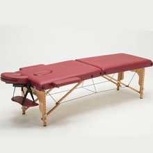 Professional Portable Facial Beauty Salon Table Foldable Height Adjustable Body Spa Health Massage Bed Therapy Tattoo Table(China)