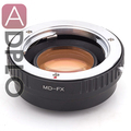 NEW!! focal reducer speed booster lens adapter suit for Minolta MD to  FuJiFilm FX camera  X-T1 X-A1 X-E2 X-M1 X-E1 X-Pro1