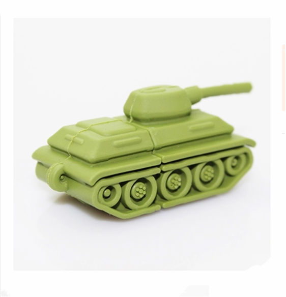 Best selling Green mini Tanks u disk - USB 2.0 Flash Drive thumb pendrive memory stick u disk /gift /Wholesale 2GB-32GB S175#21