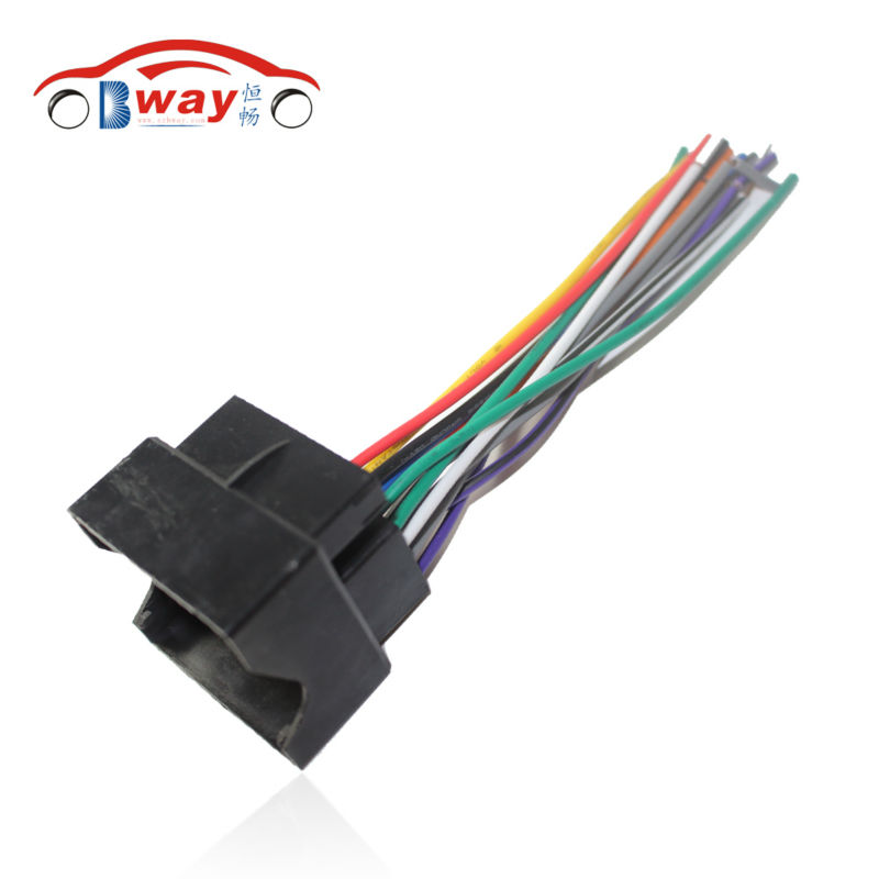 Car Radio Stereo Female ISO Plug Power Adapter Wiring Harness
